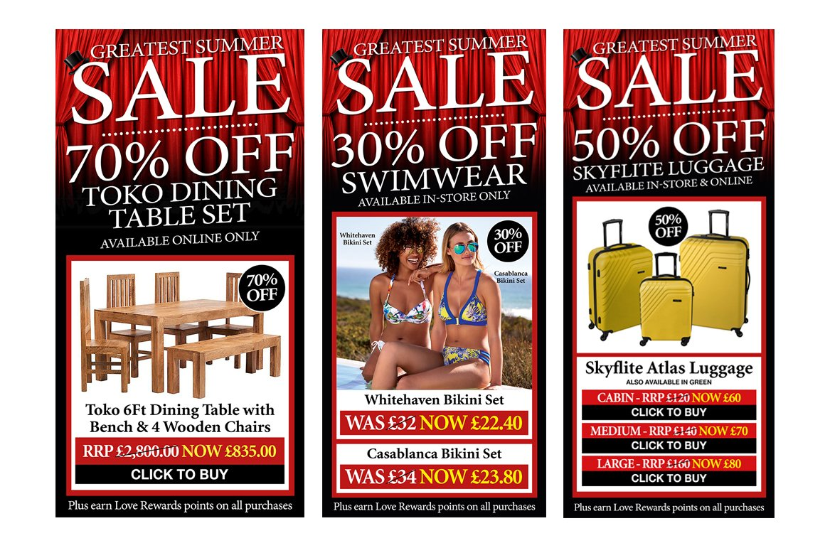 Beales Sale Newsletters