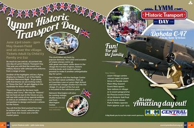 Lymm Festival Heritage Day DPS