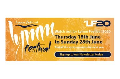 Lymm Festival Save The Date Banner