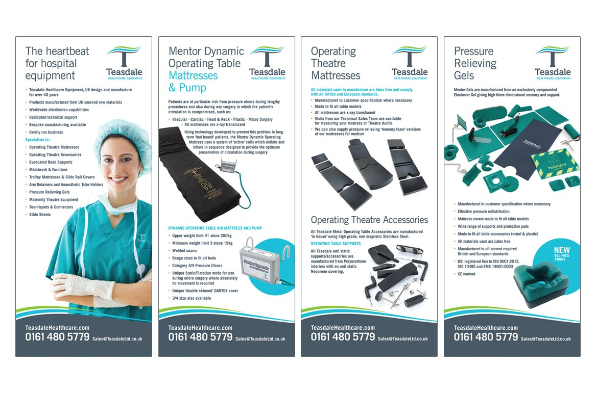 Teasdale Pull Up Banners